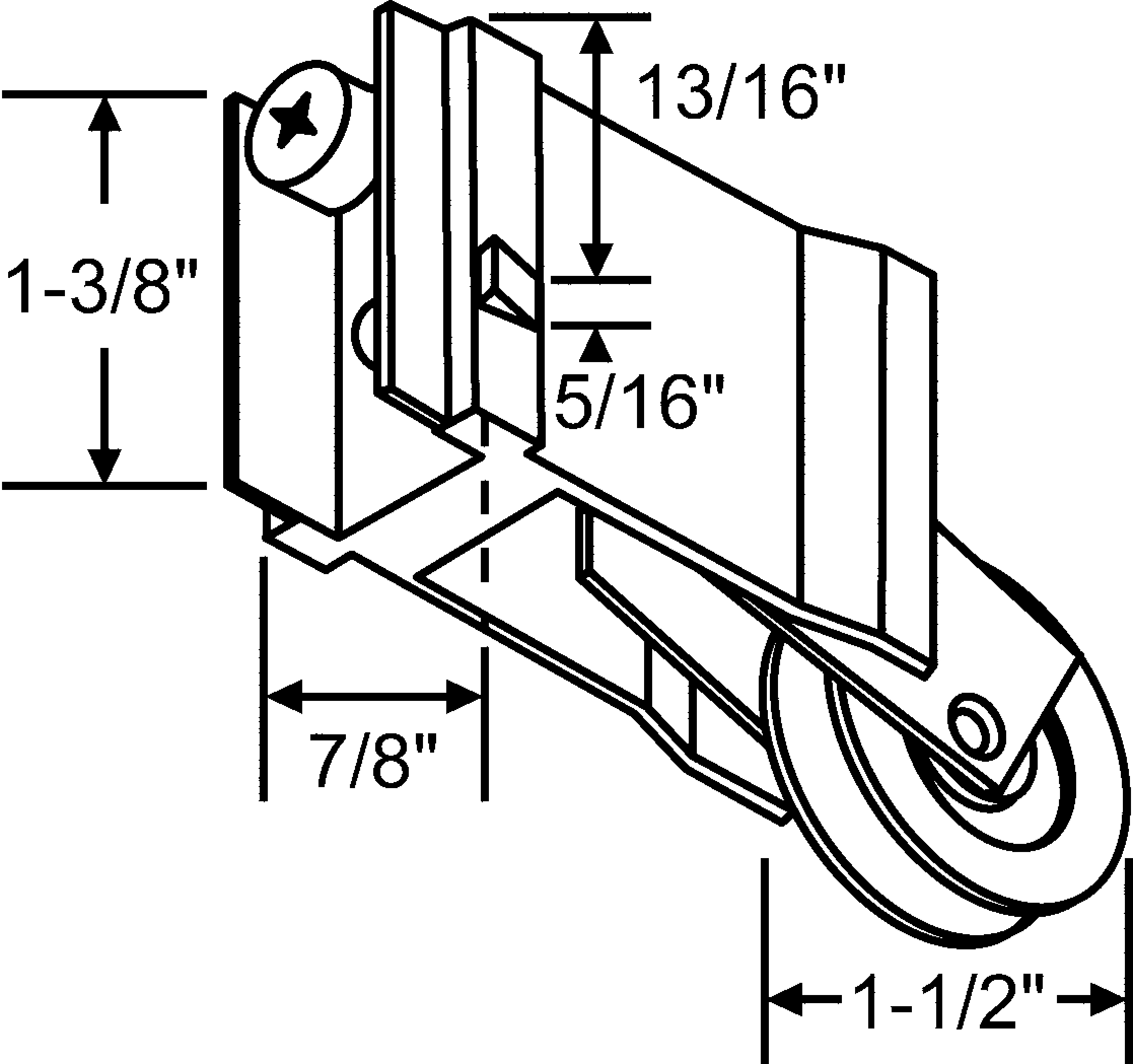 Precision Patio Door Rollers