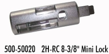 2H Mini Lock-RC 8-3/8""
