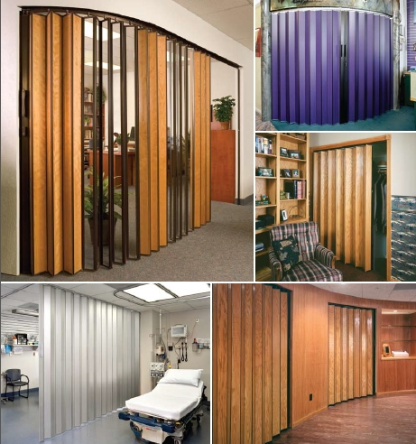 Custom Accordion Doors Room Dividers