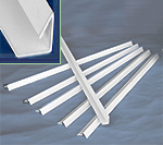 Commercial Aesthetic Trim Strip Clips 23-3/8""